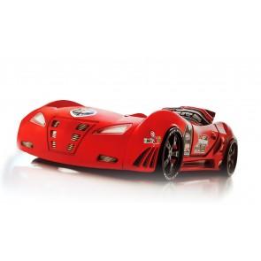 Детско легло - състезателна кола - червено