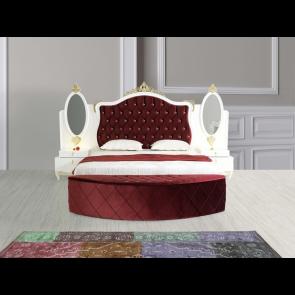 Луксозен спален комплект ZARIN - бордо
